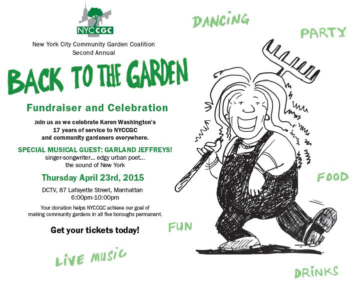 Back to the Garden Invite