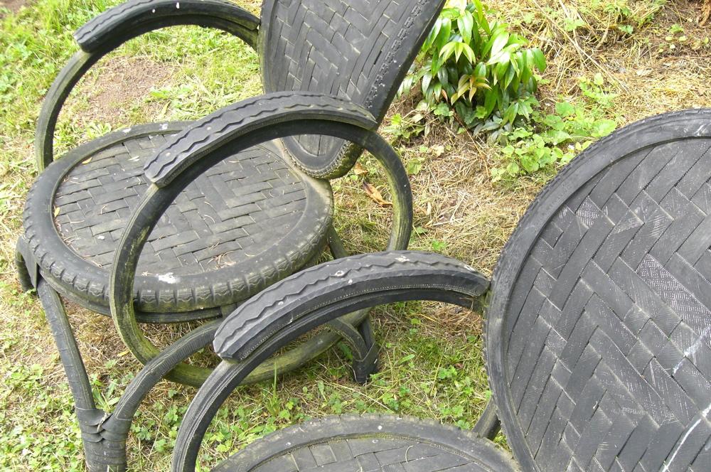 BikeTireChairs