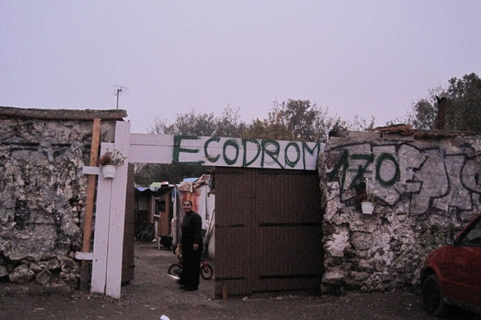Ecodrom Entrance on 170 rue de Rosny. Photo (CC): Ecodrom