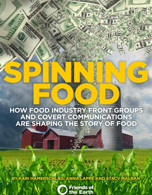 Spinning Food report