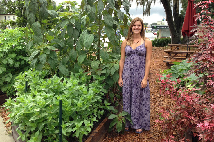 Heather Grove at the East End Market Farmlette. Photo by Rachel Rector