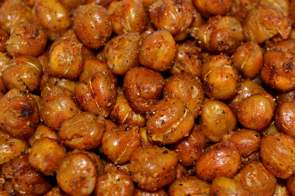Roasted chickpeas (Photo Credit: trpnblies7)