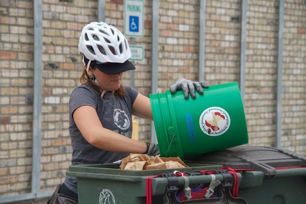 Compost Pedallers connects the dots between people who create organic waste and people who need it.