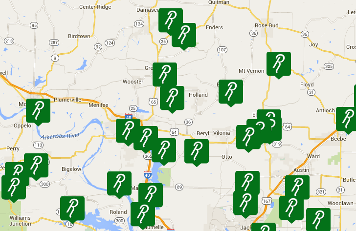 Customers can search for farmers in their area (Photo Credit: Produce Run website)