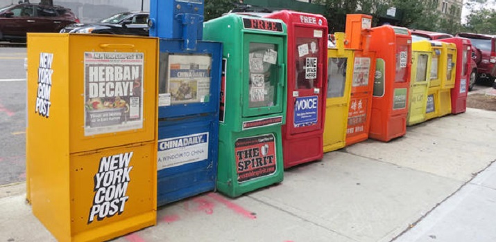 New York City Newspaper Boxes Get New Life as Compost Bins