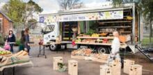 Food Justice Truck Serves Up Fresh, Healthy Food to Asylum Seekers
